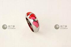时尚合金戒指