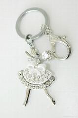 时尚锌合金钥匙扣
