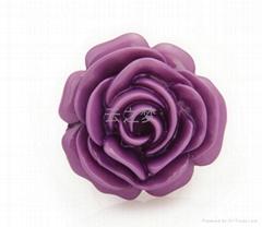 玫瑰花時尚戒指