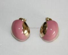 時尚糖果色耳釘耳環
