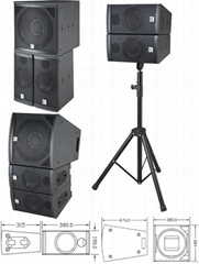 concert stage pro speakers