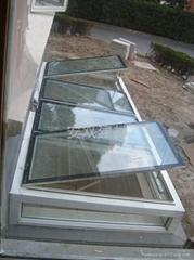 南京地下采光通风铝合金天窗价格