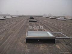 湖北电动铝合金斜屋顶天窗价格