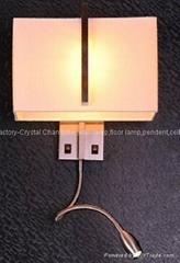 Energy saving wall lamp