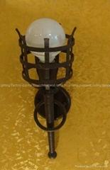 ball bulb 1*E27 60W wall lamp