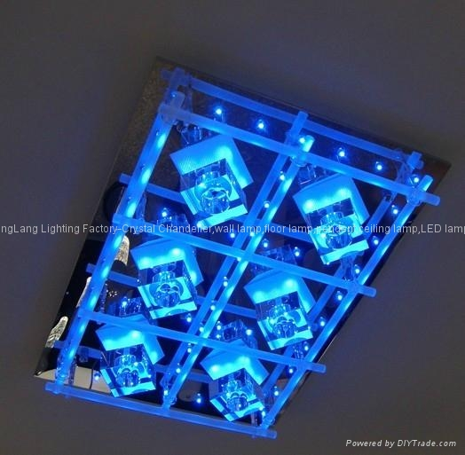 Selling crystal*glass ceiling lamp 1