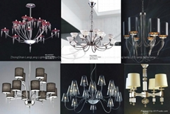Selling all kinds of interior lamps