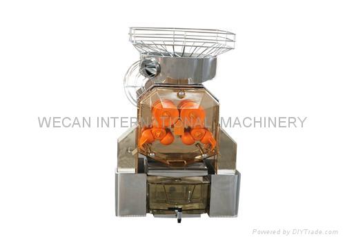 Commercial electric automatic orange citrus juicer/extractor/fruit juicer 2