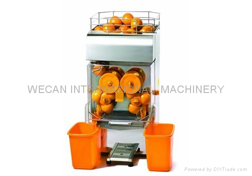 Commercial electric automatic orange citrus juicer/extractor/fruit juicer 4