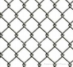 低碳钢丝勾花网