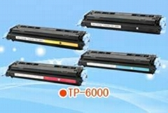 Color Toner Cartridge HP Q6000 used for HPLaserJet 1600/2600/2605;CANON LBP 5000