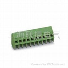 PCB连接器固定式端子LG103-5.0/5.08