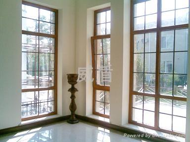 欧式铝木门窗 2