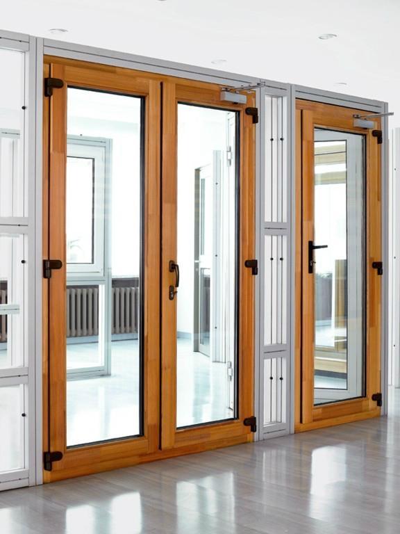 无锡欧式铝木门窗 1