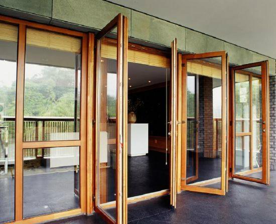 无锡欧式铝木门窗 3