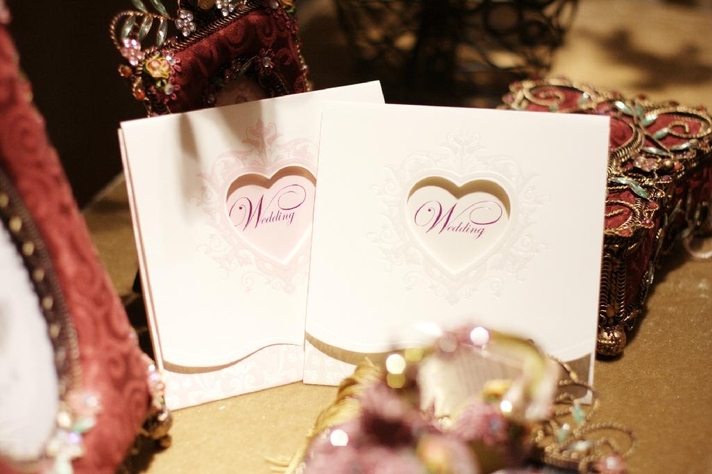 Excellent quality greeting card,wedding invitation card 5