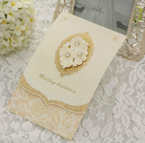 Europe classic wedding cards,Invitation Cards with Envelope 1