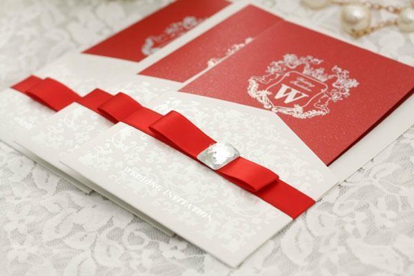 Customizable Elegant Wedding Invitation card with DHL shipping  3