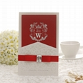 Customizable Elegant Wedding Invitation card with DHL shipping  5