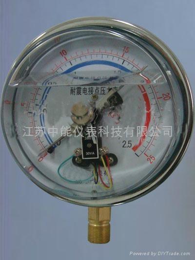 耐震電接點壓力表 1