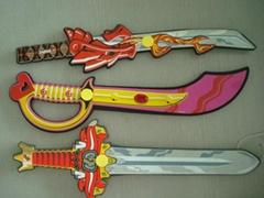 供应eva武器装备刀剑