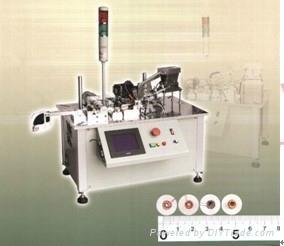 Hana-B全自動環型變壓器磁環繞線機 1