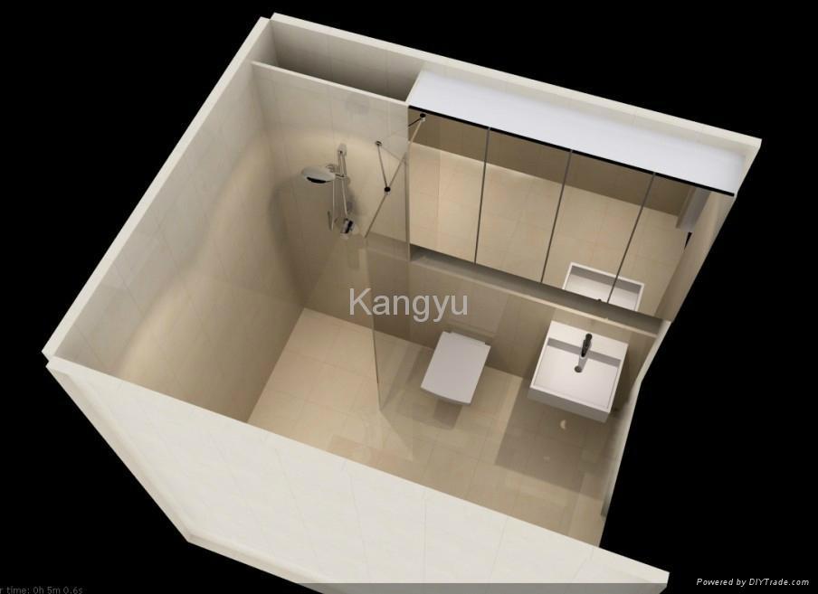 Prefabricated Bathroom Unit With Australian Standard Ky
