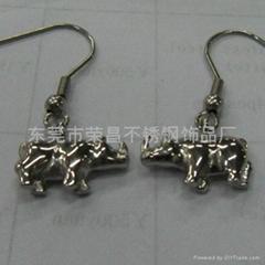 316L不锈钢耳环