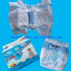 OEM baby diaper with PE tape
