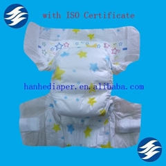 Cloth-like Disposable European Baby Diapers