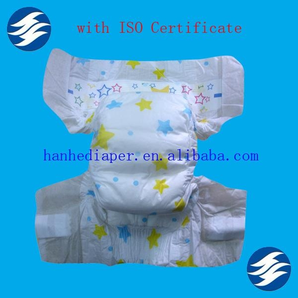 Cloth-like Disposable European Baby Diapers 2