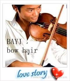 fiddle bow hair 1