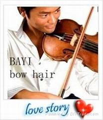 fiddle bow hair
