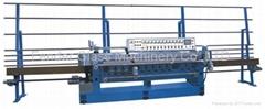 PLC controll glass beveling machine