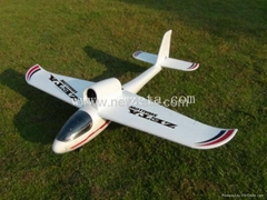 55mm EDF EPO RC airplane RTF with remote radio control