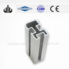 Mat Anodized Small and Large Diameter Aluminum Profiles