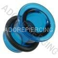 Supply glass flesh tunnel plug