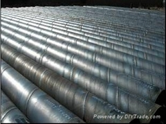 ASTM A252 SSAW STEEL PILING PIPE  shanna(at)hnssd(dot)com