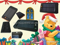 Solar energy functional mobile notebook charger