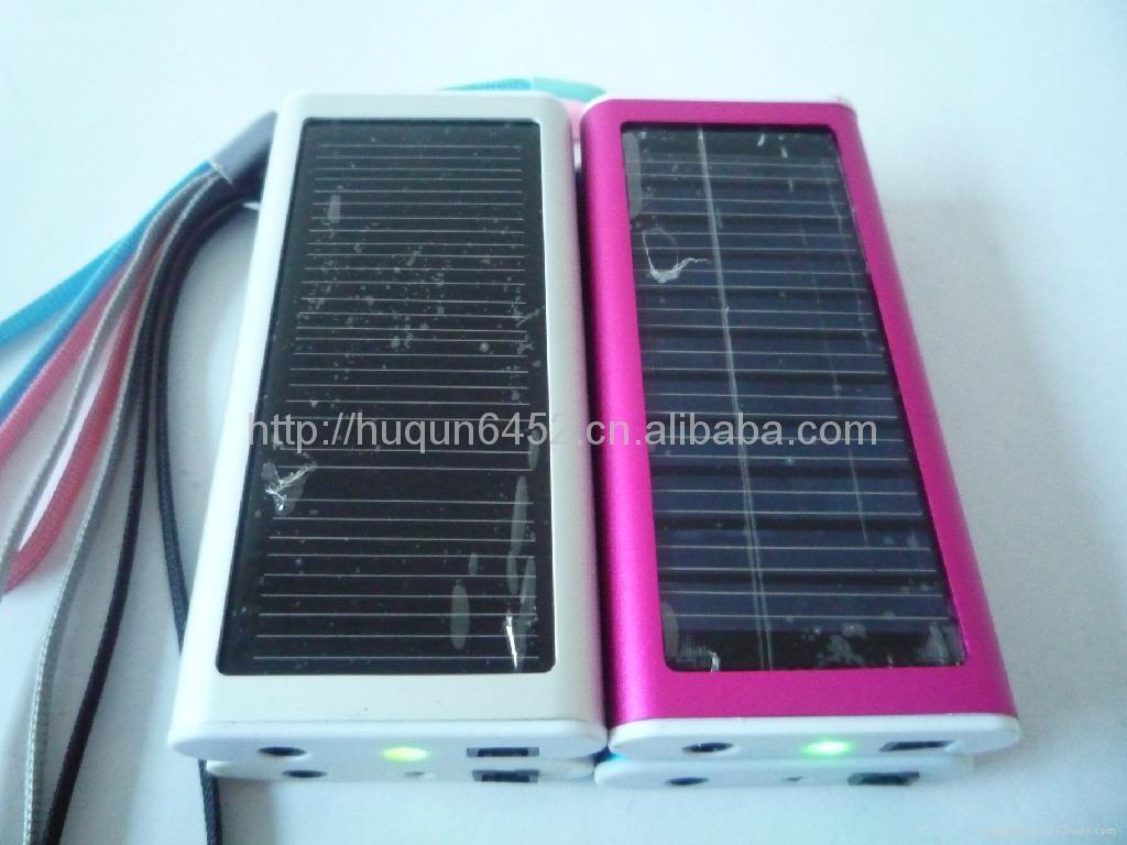 太陽能手機多功能充電器(聖誕禮品) 5