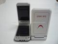 手機款翻蓋太陽能雙板充電器