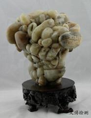 稀品合籽石(玉质)