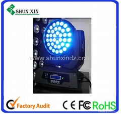 36x10W Quad-color led moving head wash