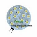 G4 bulb 15SMD5050 2.5W Light LED 2 pins