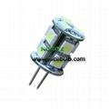 LED G4 Light 13SMD5050 2.5W corn light back-pins cabinet bulb 1