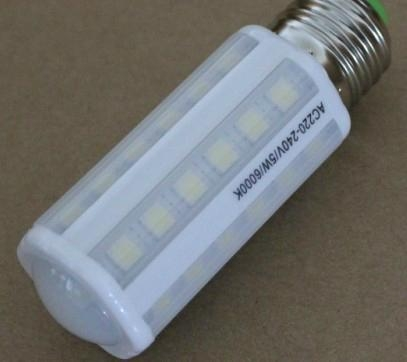7W led corn light 41pcs 5050SMD with milky cover beautiful look 3