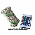 Remote Control led G4 bulb DC12V LED RGB