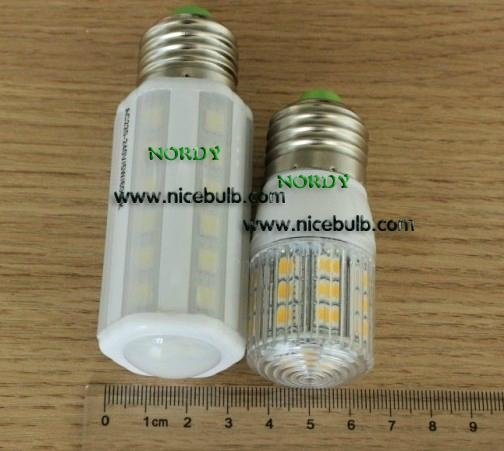 Mini LED Corn Lamp E27 B22 3.8W 24PCS 5050SMD corn bulb with cover 3