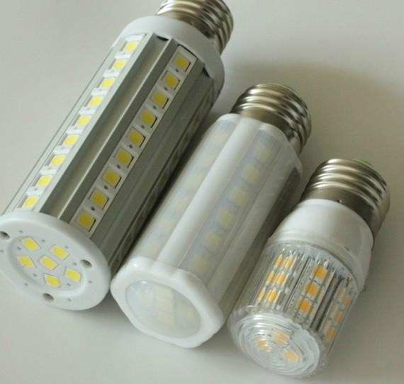 Mini LED Corn Lamp E27 B22 3.8W 24PCS 5050SMD corn bulb with cover 4