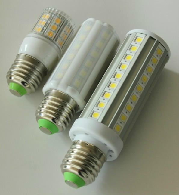 Mini LED Corn Lamp E27 B22 3.8W 24PCS 5050SMD corn bulb with cover 5